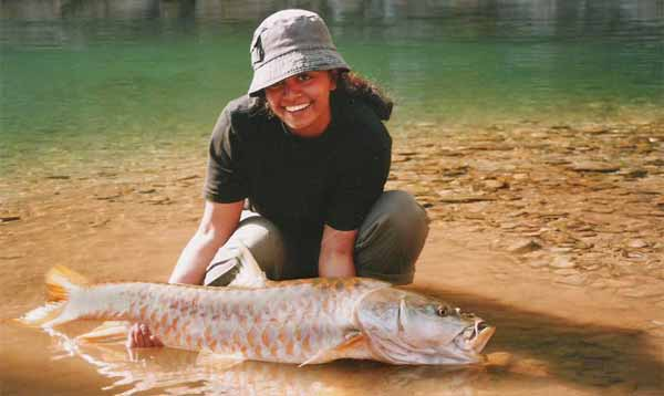 Golden mahseer fishing, Ramganga river