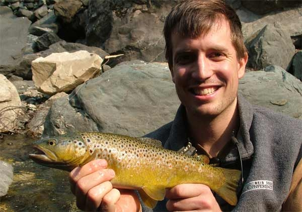 "17"" Brown trout, Assi Ganga"