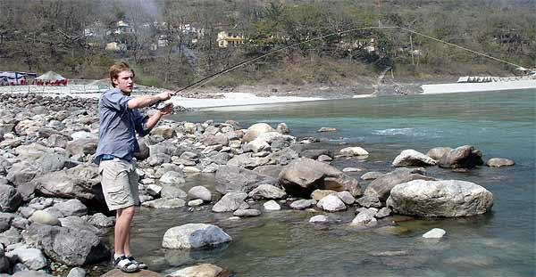 Book your Mahseer fishing holiday on the Ganga