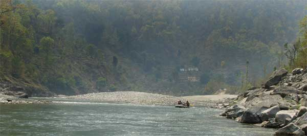 Book your Mahseer fishing holiday on the Sarju River