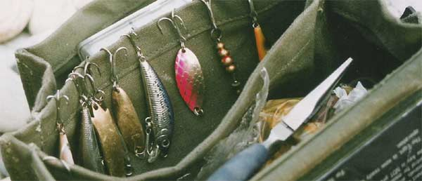 Mahseer fishing with spoons & spinners